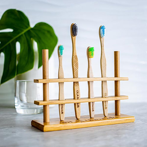 Porte-brosse à dents en bambou OLA Bamboo
