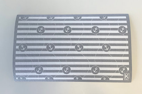 Tapis absorbant pour la vaisselle motifs ancres