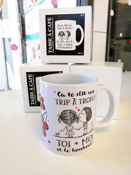 Tasse Trip à trois