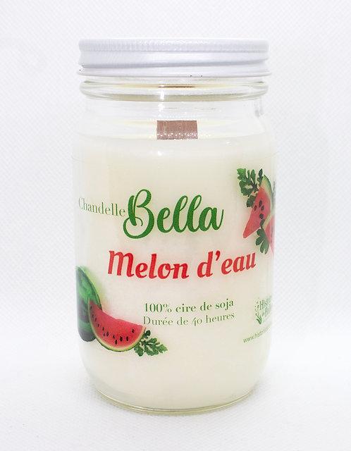 Chandelle collection Bella Melon d'eau
