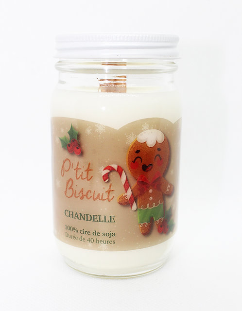Bougie collection Bella P'tit Biscuit