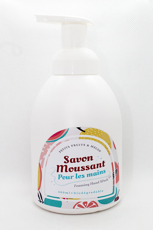 Savon moussant pour les mains Petits fruits & melon