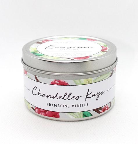 Chandelle Évasion Framboise vanille
