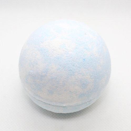Bombe de bain bleuet