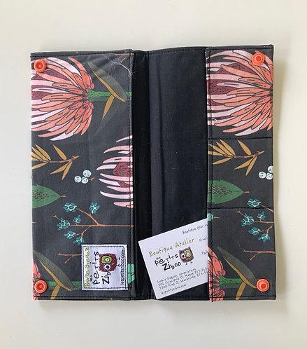 Protège passeport ziboo fleur