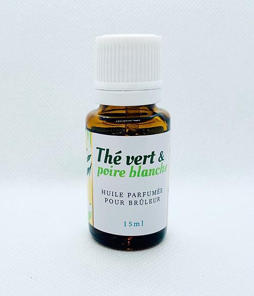 Parfum Aroma-Bulles Thé Vert et Poire Blanche