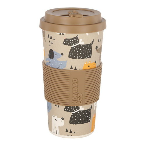 Tasse Fibre Bambou Chiens - NOMAAD ECO