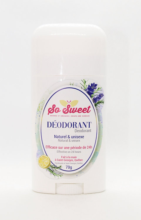 Déodorant So sweet