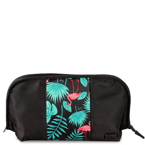 Pochette à cosmétique Lug - Flamingo black
