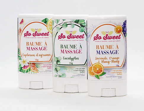 Baume à massage So sweet