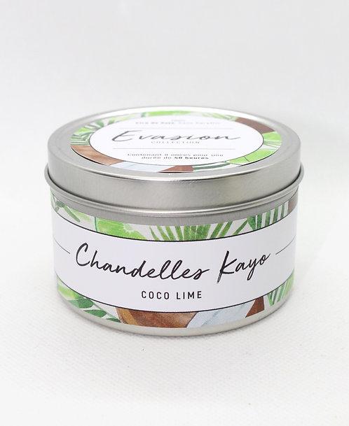 Chandelle Évasion Coco lime