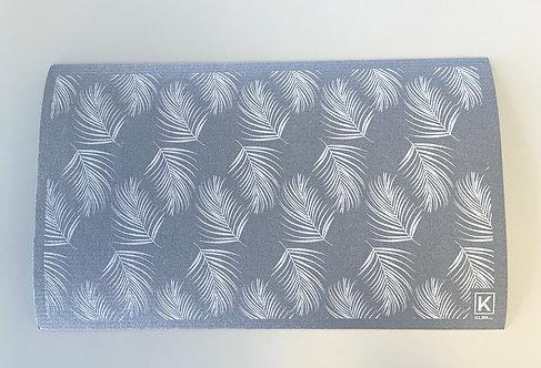 Tapis absorbant pour la vaisselle motif feuillage