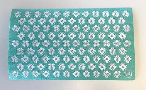 Tapis absorbant pour la vaisselle motifs fleurs