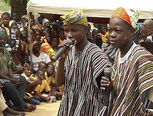 Radio station Ghana Oliver Herbrich childrem's fund