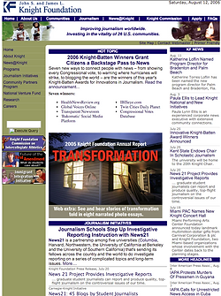 save 2007 knight foundation web site ima