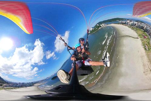 Voo de Parapente com Fotos e Vídeo 360º
