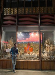 TRIBECA ARTS WINDOW INSTALLATION