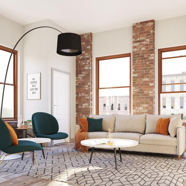 Apartment Rendering
