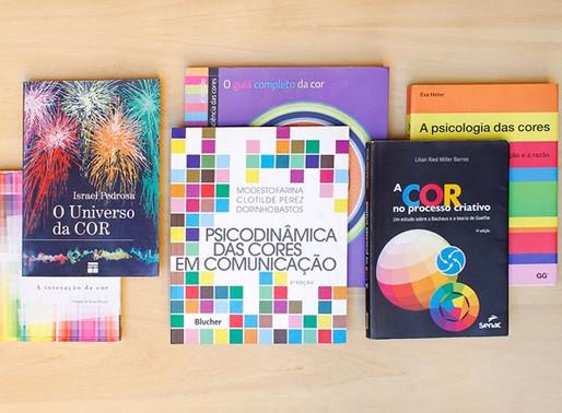 Dicas de livros sobre cores e sua teoria.