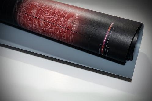 Musicmap Flex Poster Print Medium Roll