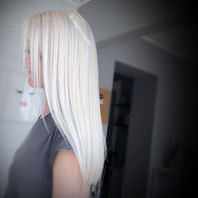 Single process blonde using only 20vol a