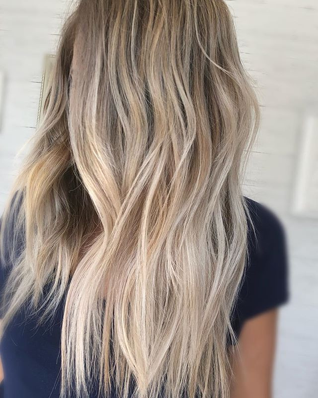 We turned this one into a beachy blonde