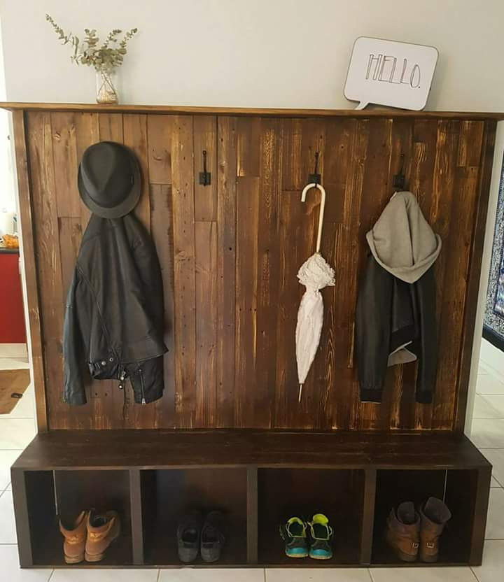 Coat and Shoe Rack