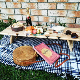 Wine Glass picnic table