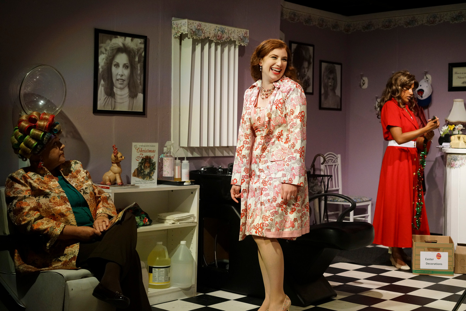 As Shelby in Steel Magnolias