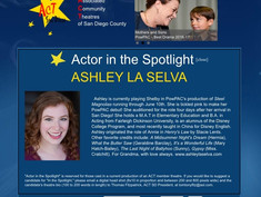 Featured ACT Actor in the Spotlight