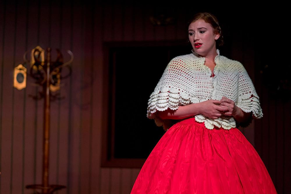 Ashley as Belle in A Christmas Carol