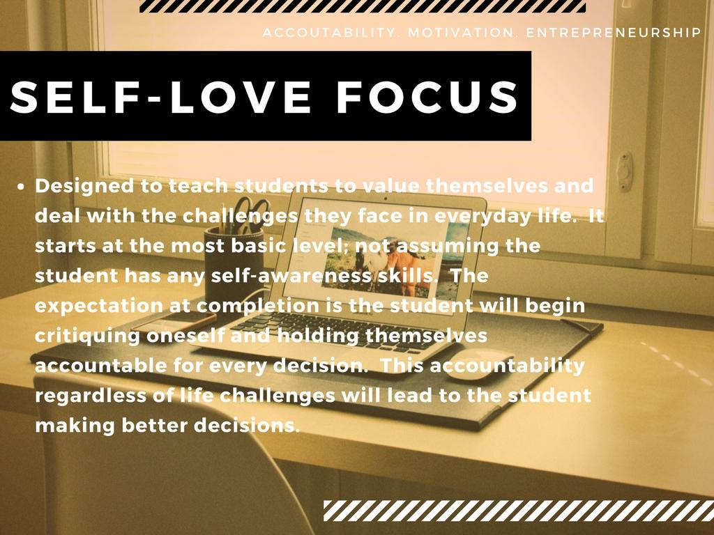 Self - Love Focus