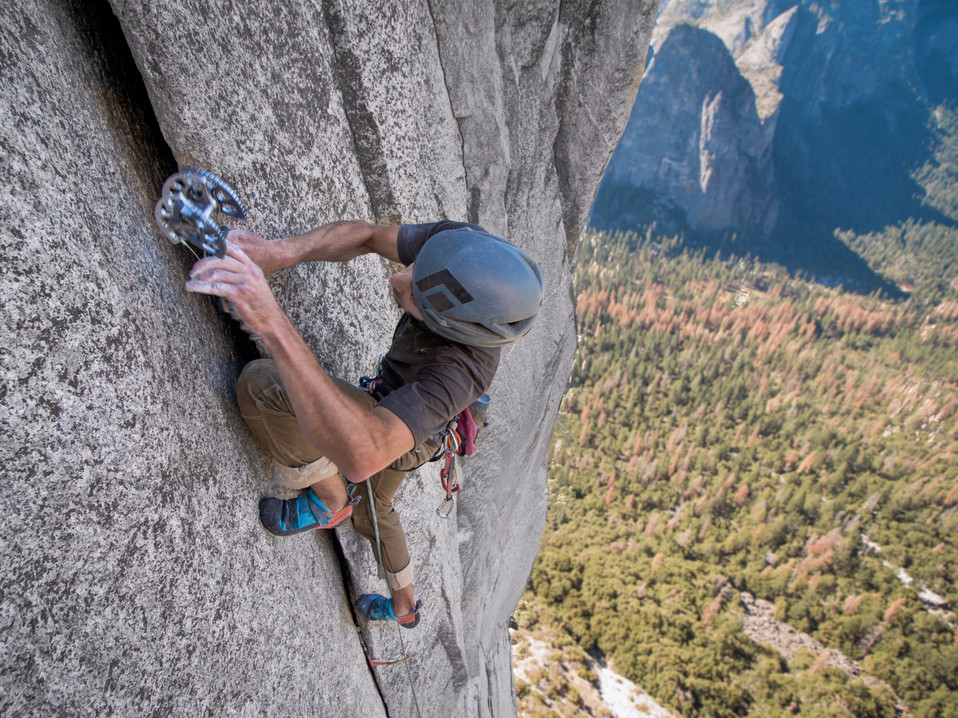 Because most of the route is trad, your best friends are definitely mechanical !