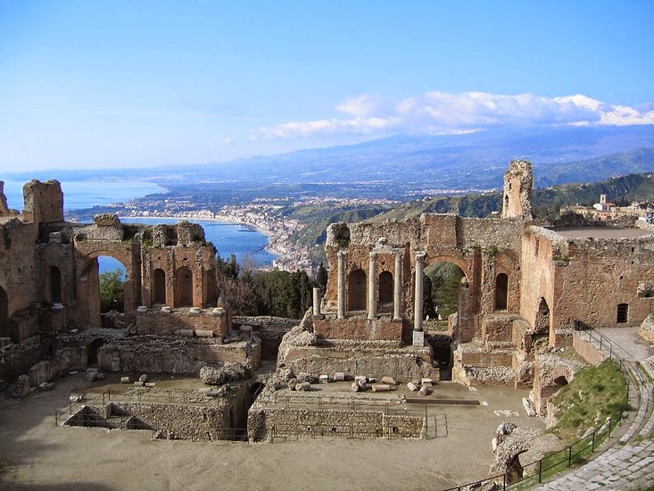 Taormina -Teatro Greco