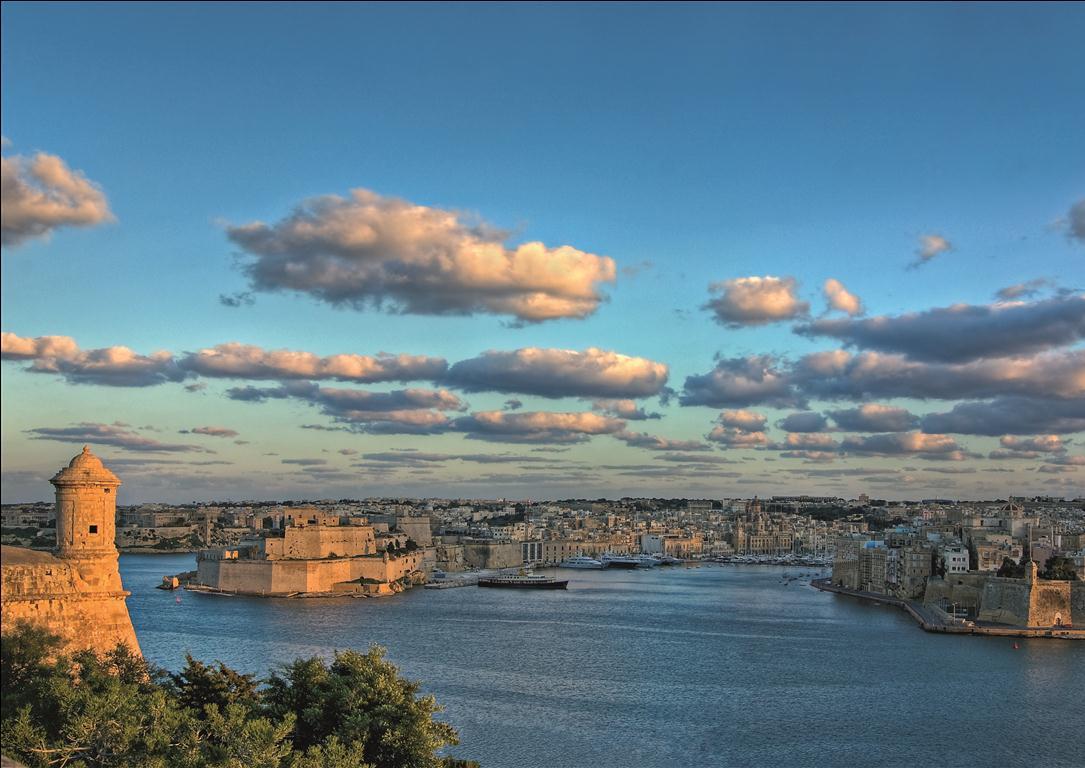 Malta - The Grand Harbour by Clive Vella