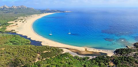 beach_aerial view_pano_Murtoli @Camille