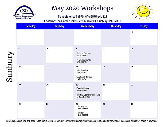 Calendar-CAA Sunbury May 2020.png