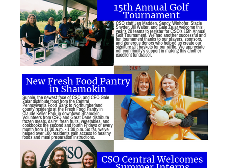 CSO, Inc. Summer 2019 Newsletter