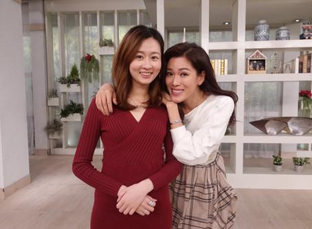 安排Iris接受TVB《流行都市》專訪