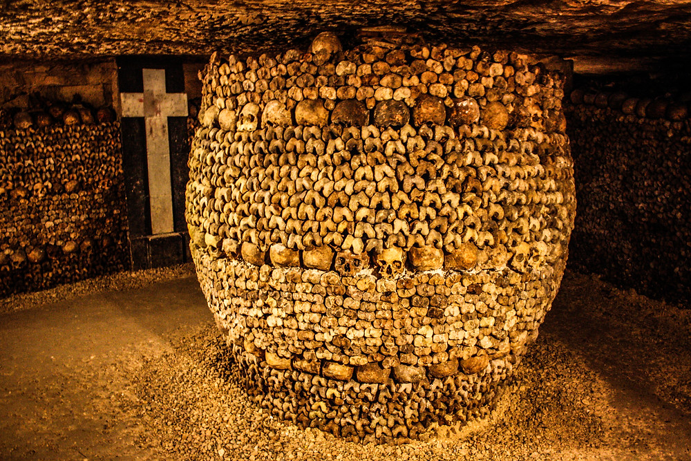 Once I spent a night in the catacombs and drank whiskey on top of a bunch of bones. It was wild.
