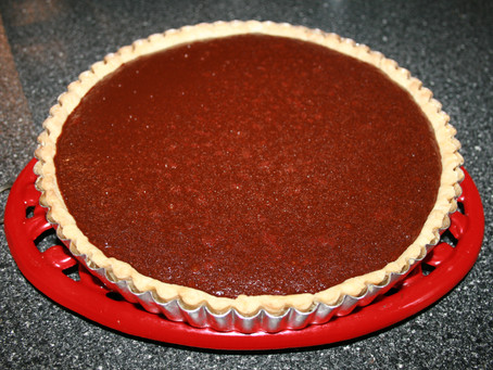 Baking & Beer | To-Die-For Chocolate Tart