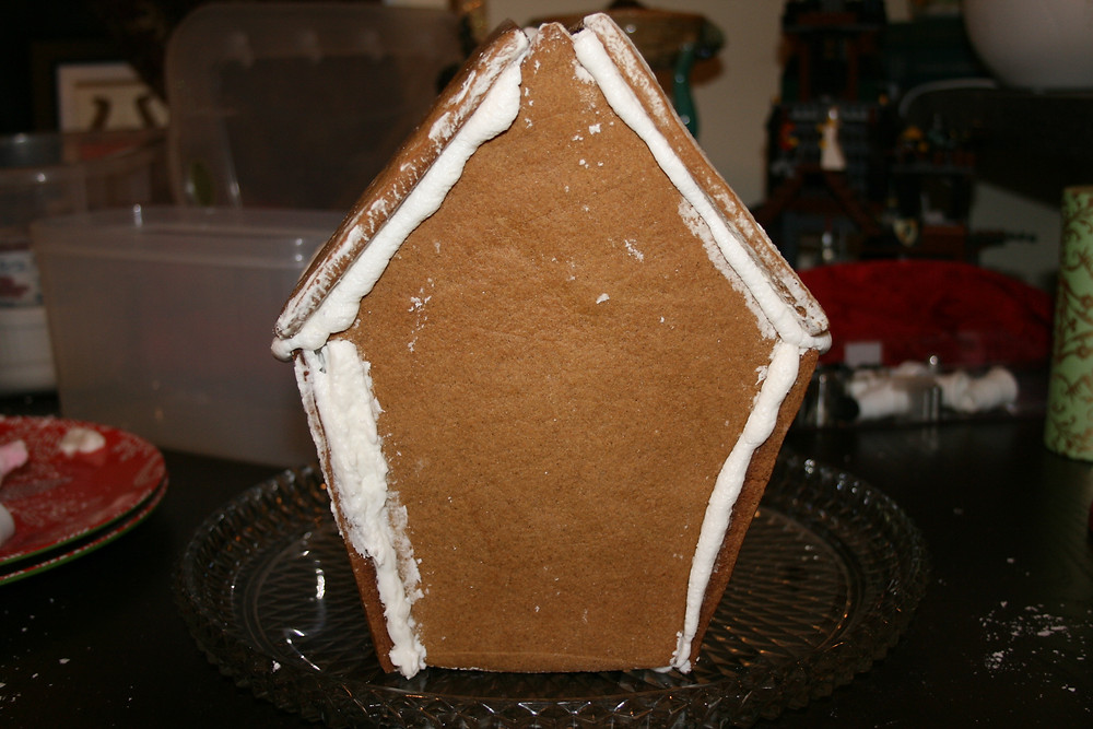 Queer Martha Gingerbread House
