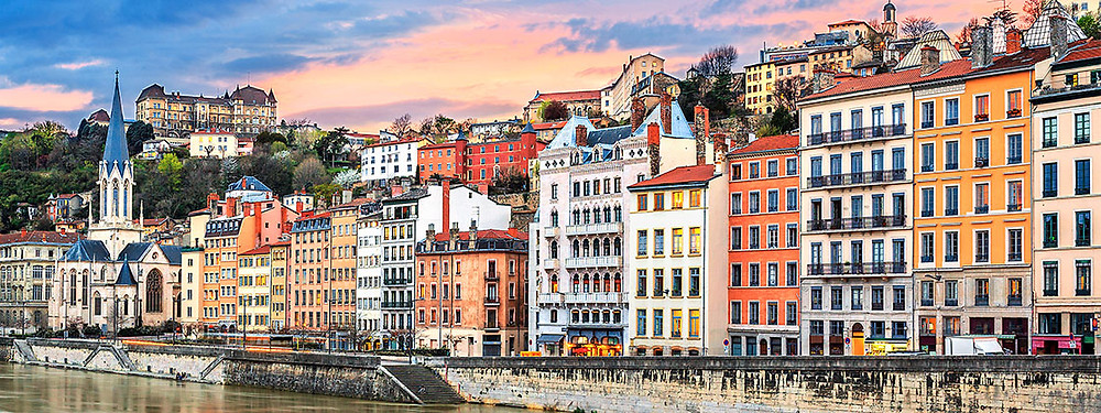 This is Lyon - look at the colors!