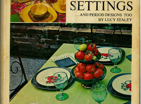 The Art of Table Setting (circa 1968)