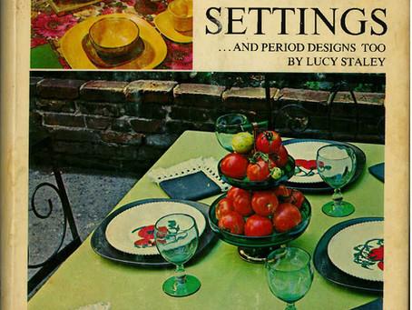 The Art of Table Setting (circa 1968)