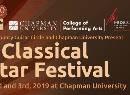 Orange County Classical Guitar Festival