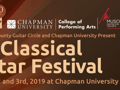 Orange County Classical Guitar Festival