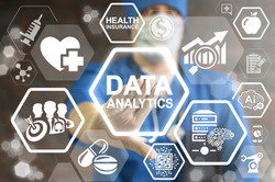 Data Analytics Medicine Concept