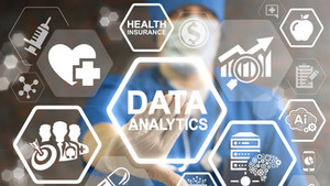 Data Analytics Medicine Concept. Health