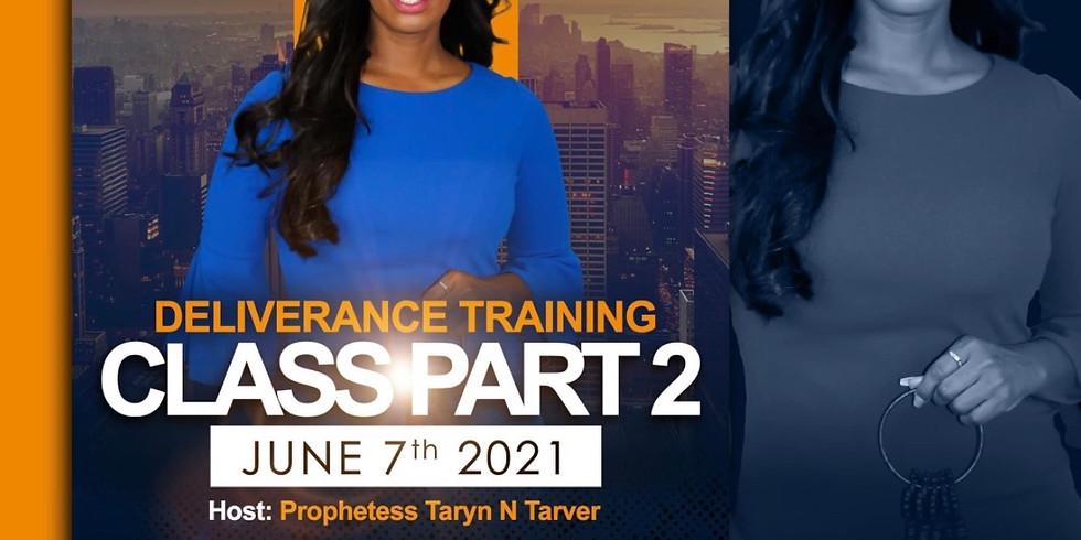 Deliverance Training Class Part 2